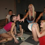 Drunken orgy with amateur students