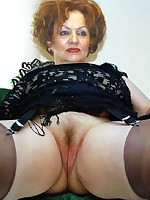 Mature Amateurs in Stockings - Granny Girdles